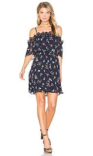 Мини-платье с открытыми плечами - J.O.A.