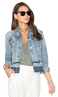 Deena released hem jacket - J Brand