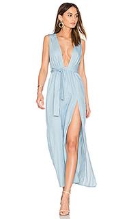 Esperanza plunging dress - LIONESS