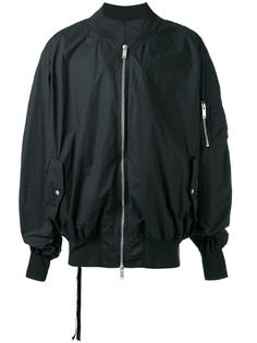 классическая куртка-бомбер Unravel Project