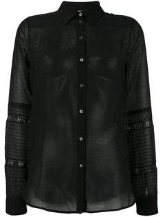 прозрачная рубашка Nº21