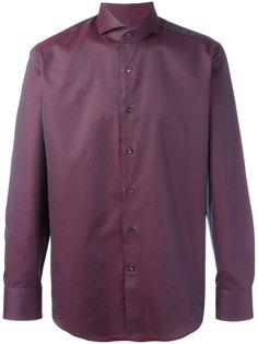 рубашка с плетеным узором Canali