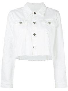укороченная джинсовая куртка  Each X Other