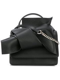 сумка на плечо с узлом спереди Nº21
