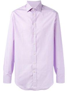 рубашка в мелкую клетку Armani Collezioni