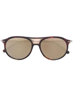 """солнцезащитные очки """"авиаторы"""" с накладными панелями Matsuda"""