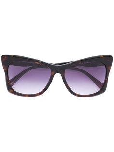 солнцезащитные очки с массивной оправой Emilio Pucci