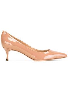 классические туфли с блестящей отделкой  Sergio Rossi