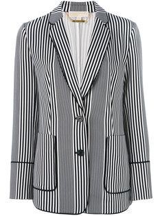 полосатый пиджак Michael Michael Kors