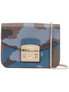 сумка через плечо с камуфляжным принтом Furla