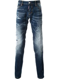 джинсы Slim Dsquared2
