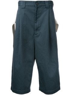 укороченные широкие брюки Miharayasuhiro
