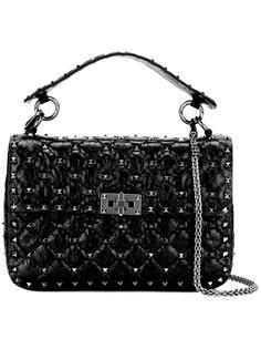 стеганая сумка-тоут Rockstud Valentino