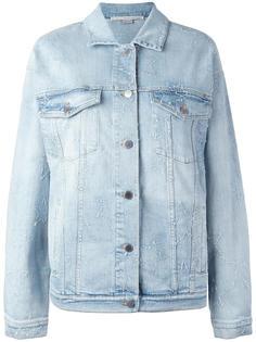 джинсовая куртка со звездами и бахромой Stella McCartney