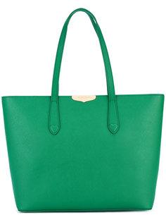 сумка-тоут с бляшкой-логотипом Twin-Set
