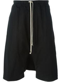 шорты с заниженной проймой Rick Owens