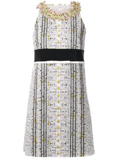 embellished neck straight dress Giambattista Valli