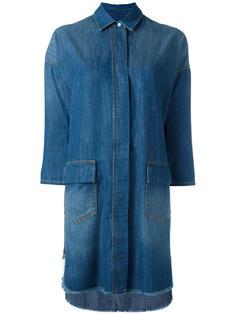джинсовое платье-рубашка Twin-Set
