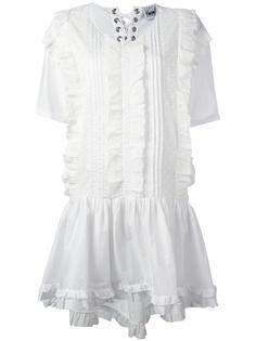 платье с рюшами Twin-Set