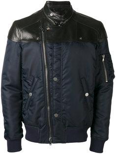 байкерская куртка на молнии Diesel