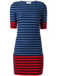 трикотажное платье в полоску Sonia Rykiel
