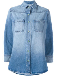 rear patch denim shirt Sandrine Rose