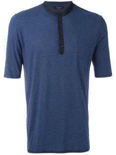 striped polo shirt Roberto Collina