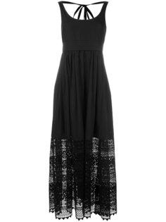 платье макси с вышивкой Nº21