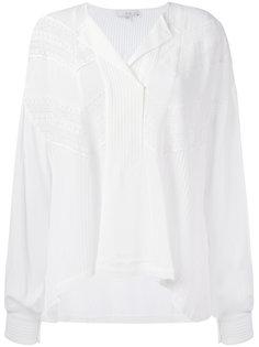 блузка с кружевом Iro