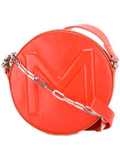 круглая сумка через плечо Mugler