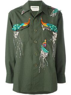 куртка с вышивкой  Night Market