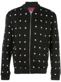 dove pattern bomber jacket  McQ Alexander McQueen