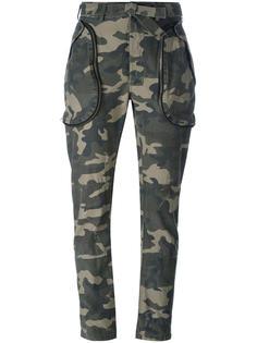 камуфляжные брюки Faith Connexion