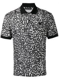 рубашка-поло с леопардовым узором Alexander McQueen