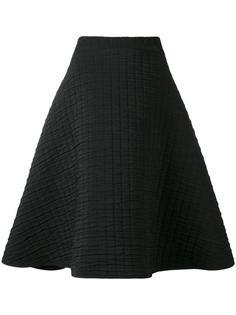 текстурированная юбка А-образного силуэта Chalayan