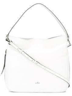 большая сумка-хобо на плечо Hogan