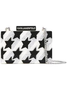 сумка через плечо со звездами Karl Lagerfeld