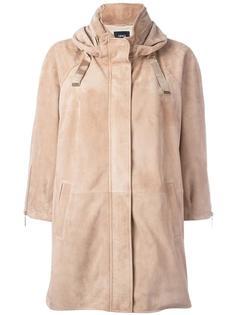 кожаная куртка с капюшоном Arma