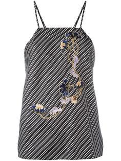 блузка Caraco à Bretelles Carven