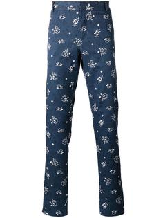 брюки с цветочным узором Paul & Joe
