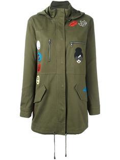 куртка с капюшоном в стиле милитари Alice+Olivia
