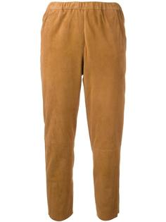 укороченные брюки с эластичным поясом Drome