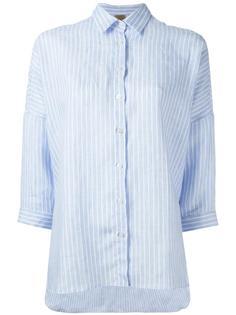 рубашка с рукавами три четверти Fay