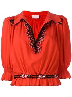 блузка с рукавами три четверти  Giamba