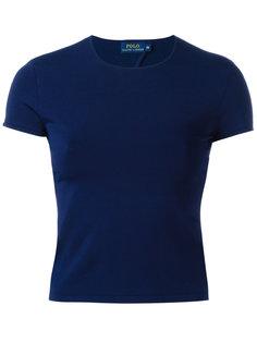 блузка с вырезом на спине Polo Ralph Lauren