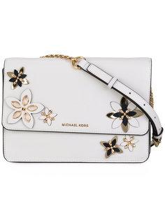 сумка через плечо с цветочными деталями Michael Michael Kors