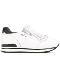 кроссовки с бахромой Hogan