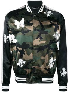 камуфляжная куртка бомбер Mariposa Valentino