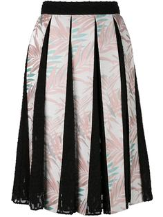 плиссированная юбка  House Of Holland