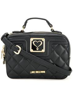 стеганая сумка через плечо Love Moschino